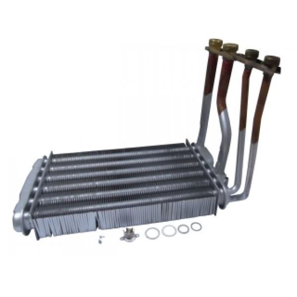 Теплообменник битермический для котлов Buderus(Будерус) Logomax и Bosch (Бош) Gaz 4000 W 87154065460